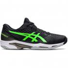ASICS Men's Solution Speed FF 2 Tennis Shoe (Black/Green Gecko) -