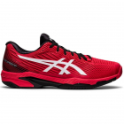 ASICS Men's Solution Speed FF 2 Tennis Shoe (Electric Red/White) -