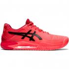 ASICS Men's Gel-Resolution 8 Tokyo Tennis Shoe (Sunrise Red/Eclipse Black) -