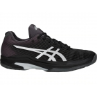 Asics Men's Solution Speed FF Tennis Shoes (Black/Silver) - Asics Gel-Solution and Solution Speed Tennis Shoes