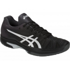 Asics Men's Solution Speed FF Tennis Shoes (Black/Silver) - Men's Tennis Shoes