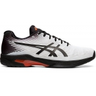 Asics Men's Solution Speed FF Tennis Shoes (White/Black) - Asics Tennis Shoes