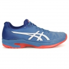 Asics Men's Solution Speed FF Tennis Shoes (Azure/White) - Asics Gel-Solution and Solution Speed Tennis Shoes