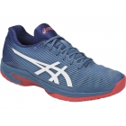 Asics Men's Solution Speed FF Tennis Shoes (Azure/White) - Men's Tennis Shoes