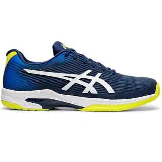 Asics Men's Solution Speed FF Tennis Shoes (Blue Expanse/White)