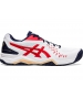 Asics Men's Gel Challenger 12 Tennis Shoes (White/Classic Red) - Asics Gel-Challenger Tennis Shoes