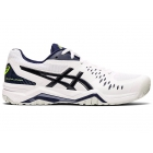 ASICS Men's Gel-Challenger 12 Tennis Shoes (White/Peacoat) - Asics Gel-Challenger Tennis Shoes