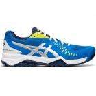 Asics Men's Gel Challenger 12 Tennis Shoes (Electric Blue/Silver) -