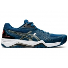 ASICS Men's Gel-Challenger 12 Tennis Shoes (Mako Blue/Gunmetal) - Asics Gel-Challenger Tennis Shoes