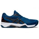 ASICS Men's Gel-Challenger 12 Clay Court Tennis Shoes ( Mako Blue/Gunmetal) - Asics Gel-Challenger Tennis Shoes