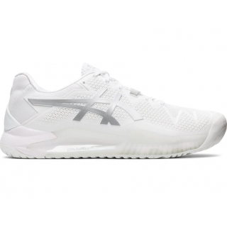 Asics Men's Gel Resolution 8 Tennis Shoes (WhitePure Silver) $134.95