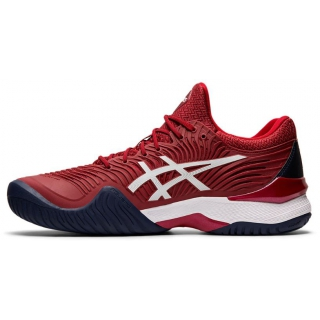 Asics Men's Court FF 2 Novak Tennis Shoes (BurgundyWhite) $129.95