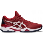 Asics Men's Court FF 2 Novak Tennis Shoes (Burgundy/White) - Men's Tennis Shoes
