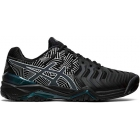 Asics Men's Gel Resolution 7 Tennis Shoes (Black/Silver) - Types of Tennis Shoes