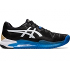 Asics Men's Gel Resolution 8 WIDE Tennis Shoes (Black/White) - Asics Gel-Resolution Tennis Shoes