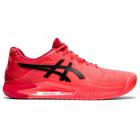 ASICS Men's Gel-Resolution 8 Tokyo Tennis Shoes (Sunrise Red/Eclipse Black) -