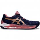 Women's Gel-Resolution 8 Tennis Shoe (Peacoat/Rose Gold) -
