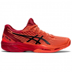 Asics Women's Solution Speed FF 2 Tokyo Tennis Shoes (Sunrise Red/Eclipse Black) -