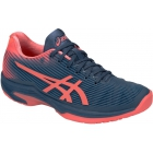 Asics Women's Solution Speed FF Tennis Shoes (Grand Shark/Papaya) - Types of Tennis Shoes