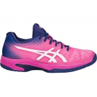 Asics Women's Solution Speed FF Tennis Shoes (Pink Glow/White) - Asics Tennis Shoes