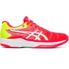 Asics Women's Solution Speed FF Tennis Shoes (Laser Pink/White) -