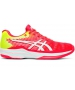 Asics Women's Solution Speed FF Tennis Shoes (Laser Pink/White) - Asics