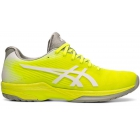 Asics Women's Solution Speed FF Tennis Shoes (Safety Yellow/White) - Asics Tennis Shoes