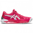 ASICS Women's Gel-Resolution 8 Tennis Shoes (Pink Cameo/White) -