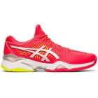 Asics Women's Court FF 2 Clay Court Tennis Shoes (Laser Pink/White) - Types of Tennis Shoes
