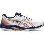 Asics Women's Solution Speed FF Tennis Shoes (White/Rose Gold) - Asics