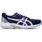 Asics Women's Solution Speed FF Tennis Shoes (Peacoat/Soft Sky) - Asics
