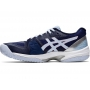 Asics Women's Solution Speed FF Tennis Shoes (Peacoat/Soft Sky)