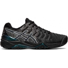 Asics Women's Gel Resolution 7 Tennis Shoes (Black/Silver) - Types of Tennis Shoes