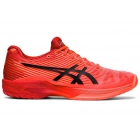 ASICS Women's Solution Speed FF Tokyo Tennis Shoes (Sunrise Red/Eclipse Black)  -