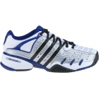 Adidas Men's Barricade V Classic Tennis Shoes (Wht/ Nvy/ Sil/ Blk) - Adidas Barricade V Classic Tennis Shoes