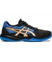 Asics Junior Gel-Game 7 GS Tennis Shoes (Black/Champagne) - Asics