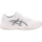Asics Junior Gel-Game 7 GS Tennis Shoes (White/Silver) - Asics Junior Tennis Shoes