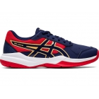 Asics Junior Gel-Game 7 GS Tennis Shoes (Peacoat/Peacoat) - Asics Junior Tennis Shoes
