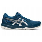 ASICS Kids' Gel-Game 7 GS Junior Tennis Shoes (Mako Blue/Pure Silver)  - Asics Tennis Shoes