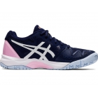 Asics Junior Gel Resolution 8 GS Tennis Shoes (Peacoat/Cotton Candy) - Asics Junior Tennis Shoes