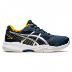 ASICS Kids' Gel-Game 8 GS Junior Tennis Shoes (French Blue/Pure Silver) -