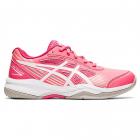 ASICS Kids' Gel-Game 8 GS Junior Tennis Shoes (Pink Cameo/White) -