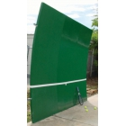 Bakko Single Curve Series Backboard 10' x 12' -