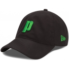 Prince Perforated Microfiber Hat (Black/ Green) - Tennis Apparel