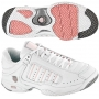 K-Swiss Women's Defier RS Shoes (White/Pink)