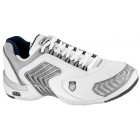 K-Swiss Men's Glaciator SCD Shoes (White/Silver) - K-Swiss Glaciator Tennis Shoes