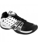 Prince Men's T24 Shoes (Wht/ Blk/ Sil) - Prince T-22 Series Tennis Shoes