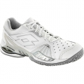 Lotto Women's Raptor Ultra IV Tennis Shoes (White/ Silver)