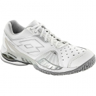 Lotto Women's Raptor Ultra IV Tennis Shoes (White/ Silver) - New Tennis Shoes