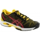 Asics Men's GEL-Solution Speed 2 Tennis Shoes (Black/ Yellow/ Red) - Asics Tennis Shoes